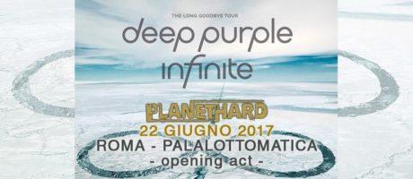 """giovedì 22/06 avremo l'onore di aprire il concerto di una band che è """"leggenda"""", i DEEP PURPLE!"""