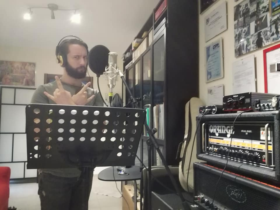 pre-produzioni delle voci del nuovo album